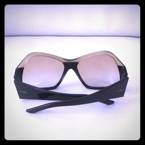 94e7cc8c760 Fendi Accessories - Fendi two-tone futuristic sunglasses
